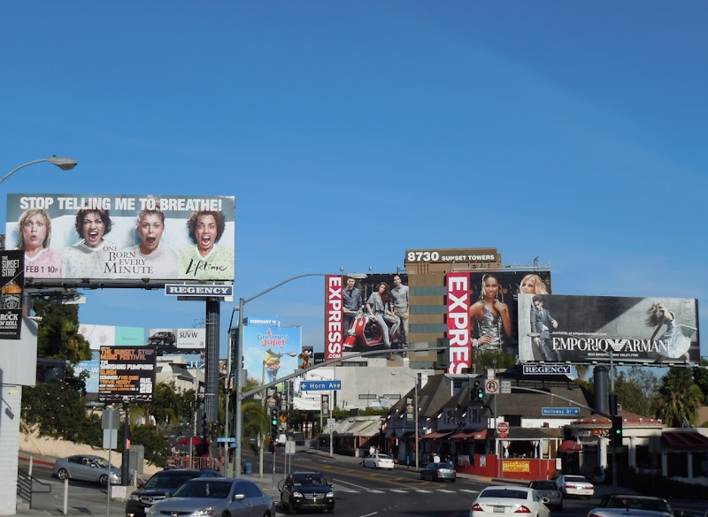 Sunset Strip billboards Feb 2011