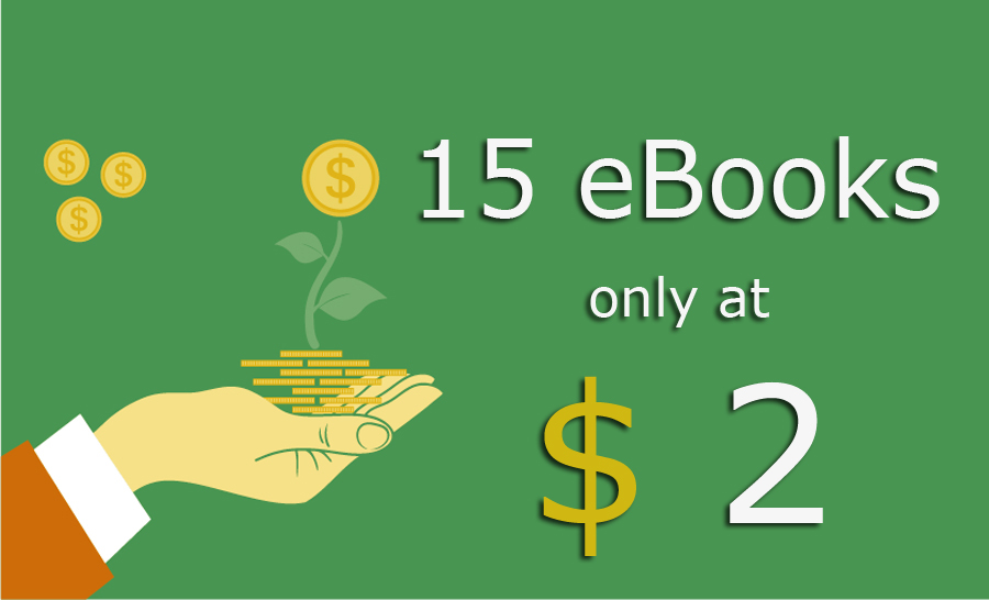 15 eBooks only at $2