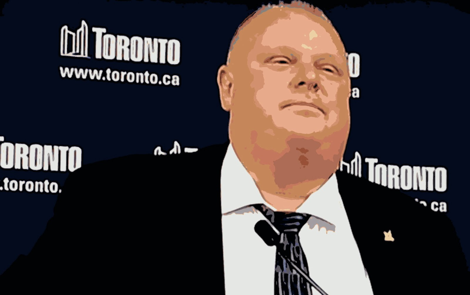 Rob Ford denied entry to the USA