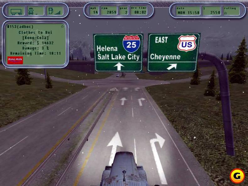 18 Wheels Of Steel Truck Games