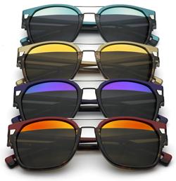 A nova grife teve seu nome inspirado nos óculos escuros de estilo esportivo  usados então pelos policiais norte-americanos. d828d732f4