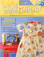 Published in Cloth Paper Scissors July/August '11
