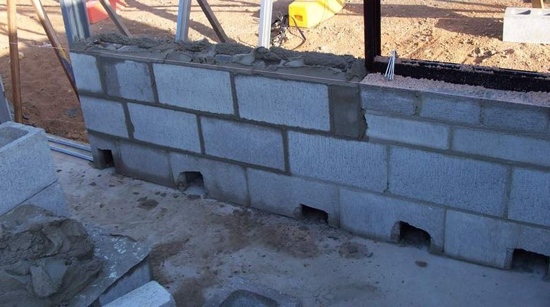 Building materials concrete blocks for Cleaning concrete walls