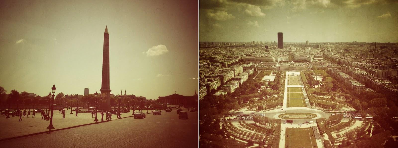Paris, Europe, Obelisk, Eiffel tower, view, Travel, blog