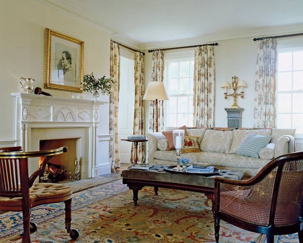 Sybaritic Spaces White House Decorator Michael S Smith