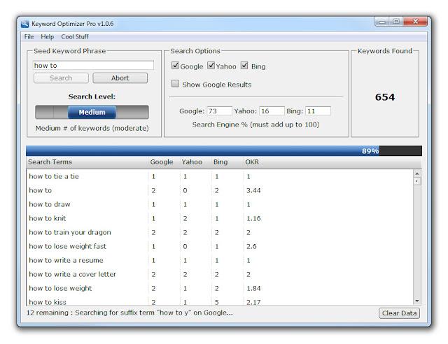 Keyword Optimizer Pro Free Download