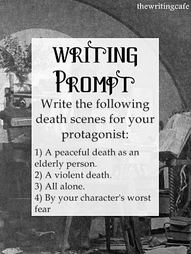 Writing Prompts for January