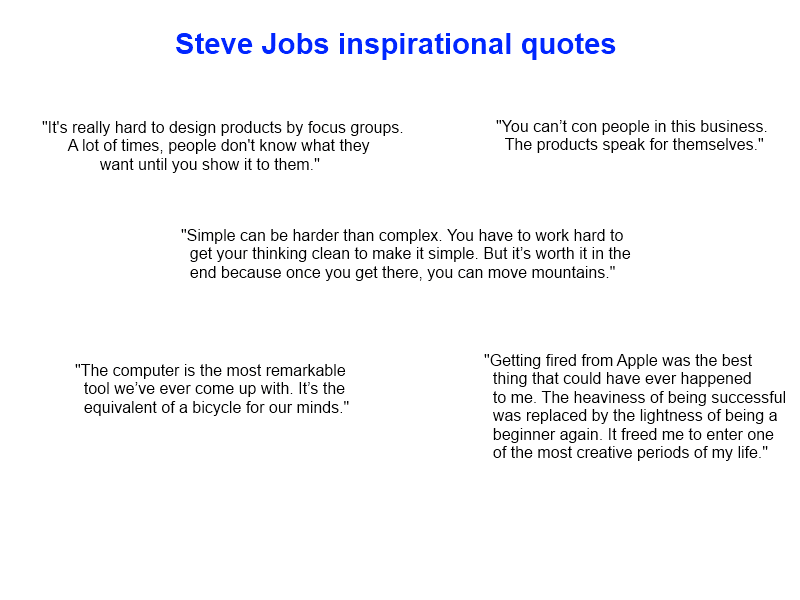 steve jobs inspirational quotes inspirational quotes