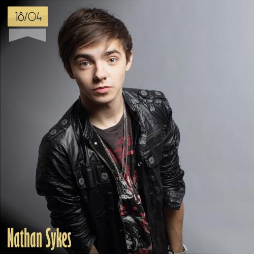 18 de abril | Nathan Sykes - @NathanSykes | Info + vídeos