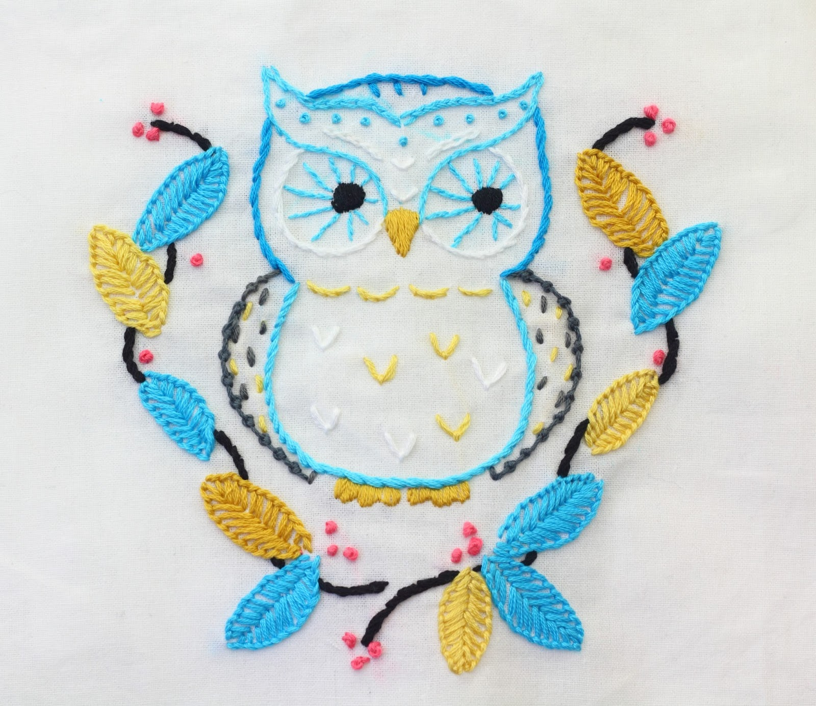 Big b autumn projects part four remember this owl from my autumn projects list he is all finished i took a few close ups to show all the stitches i used bankloansurffo Image collections