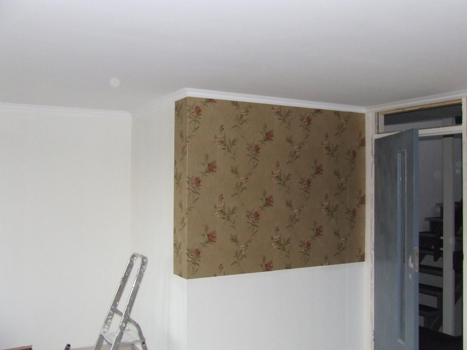 Ziep25 aan de slag met de woonkamer - Lambrisering lijstwerk ...