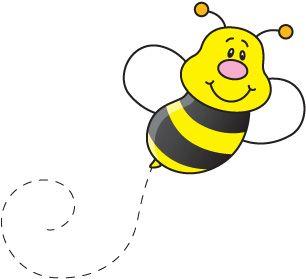 Resultado de imagen para abeja animada