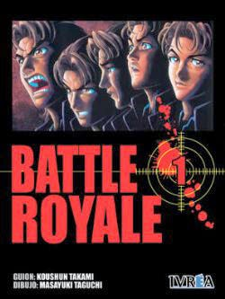 battle royale manga Takami Houshun