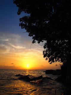 Sunset - Pulau Besar