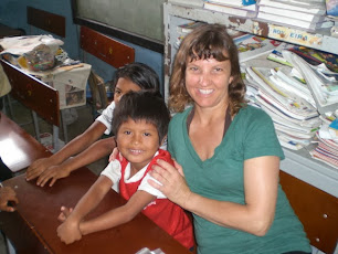 A day spent in a school classroom with Ecuadorian children during a trip to South America