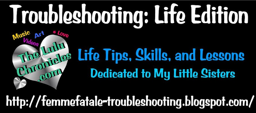 Troubleshooting : Life Edition