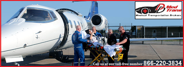 Air Ambulance Transportation Service in Scottsdale