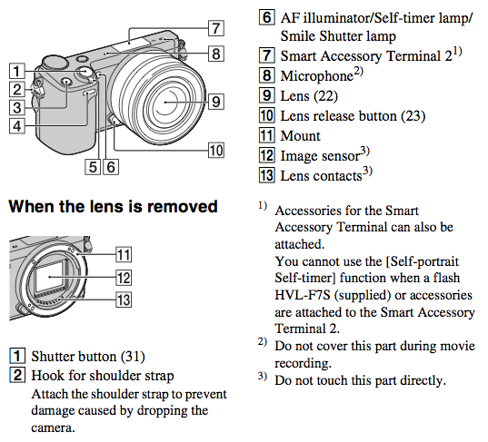 sony nex-5r manual download pdf