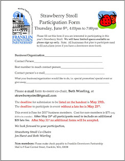 2017 Strawberry Stroll Registration