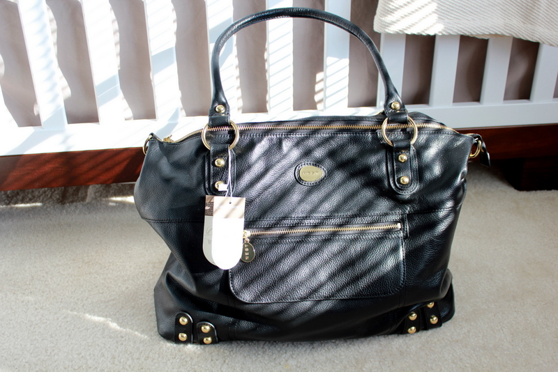 strawberry swing and other things review nest hudson diaper bag. Black Bedroom Furniture Sets. Home Design Ideas