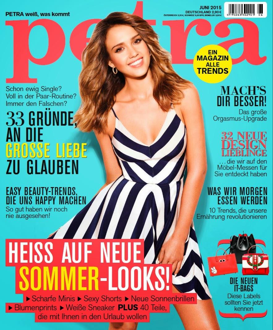 Actress @ Jessica Alba - Petra Germany June 2015