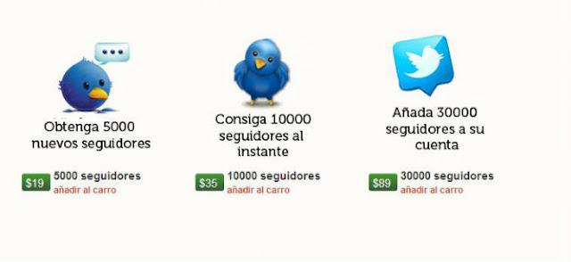 Cómo y dónde comprar seguidores de Facebook y Twitter