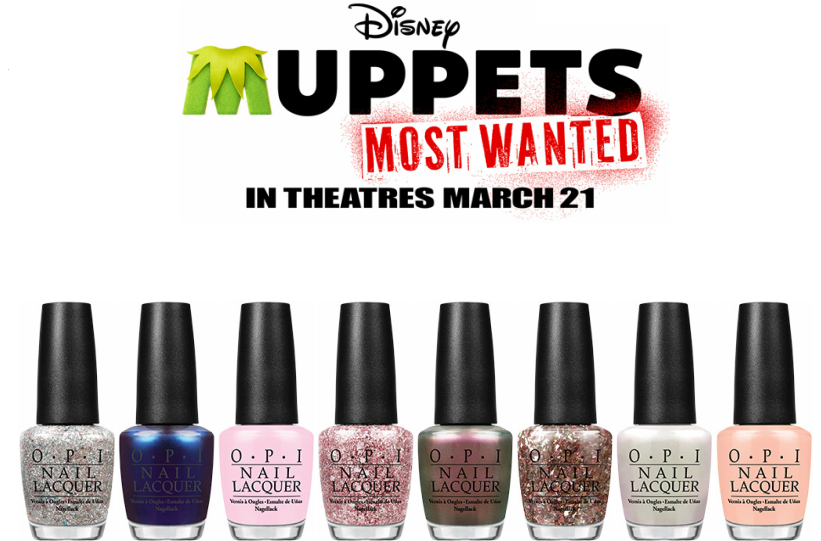 HB Beauty Bar: OPI and Disney Muppets Most Wanted Take the World by ...