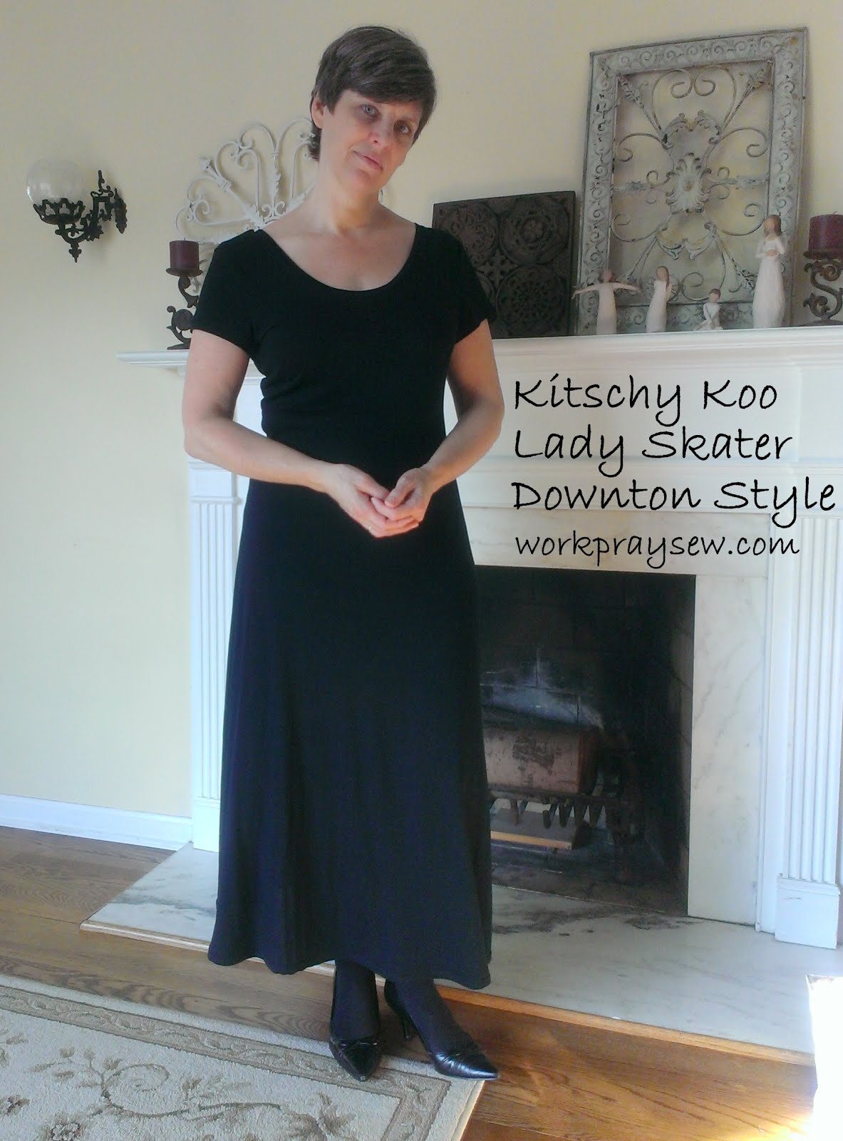 Downton Abbey Lady Skater