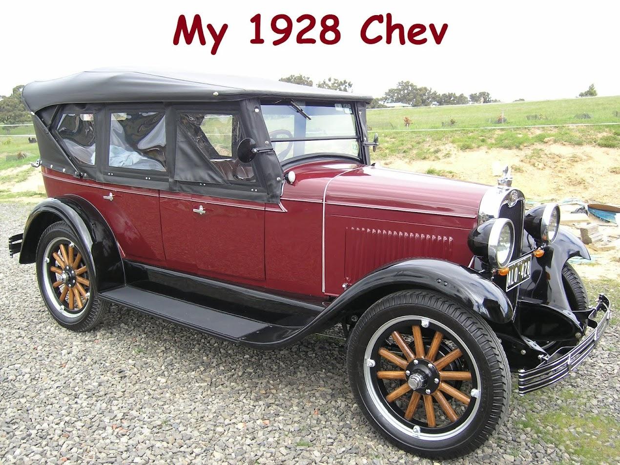 My 1928 Chevrolet