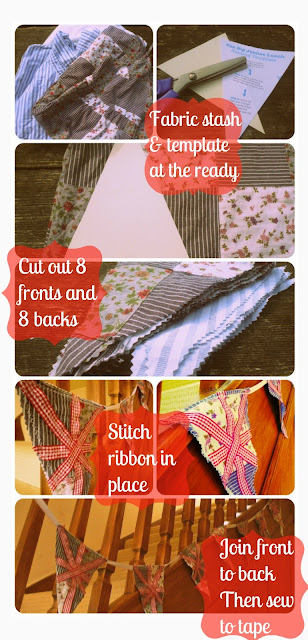 More shabby than chic Bunting