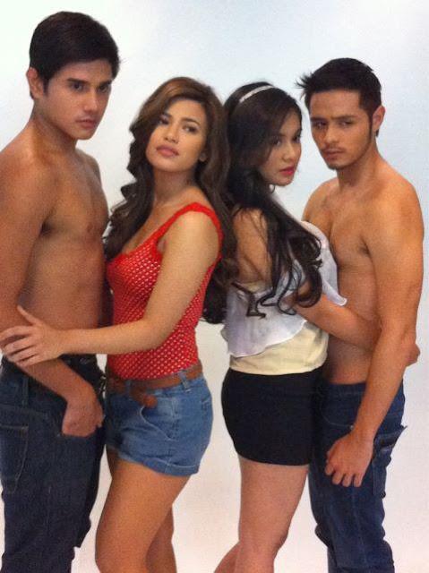 Precious Hearts Romances: Pintada Lem Pelayo, Denise Laurel, Martin del Rosario and Yen Santos