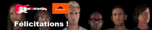gagnants concours maroon five rock'n'live blog polydor