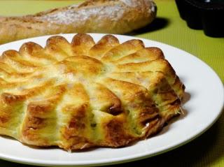 Flamiche aux poireaux (sans pâte)