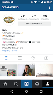 Concurso de Instagram #NavidadScrapamundi