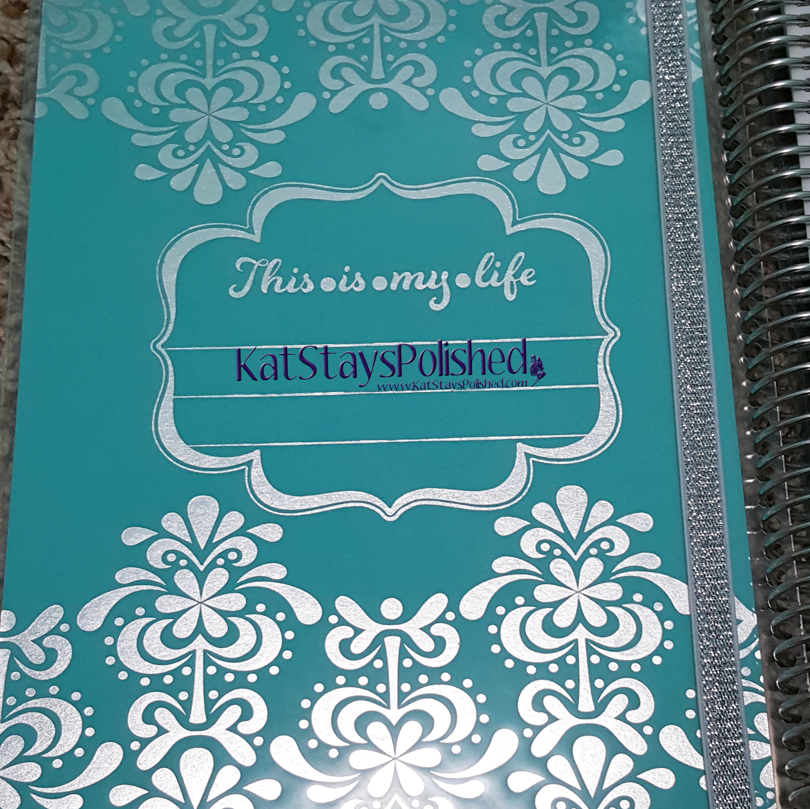 Erin Condren Life Planner | Kat Stays Polished