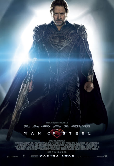 Man of Steel JOR-EL Russell Crowe Poster