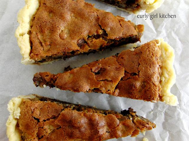 Chocolate Chip Pecan Cookie Pie