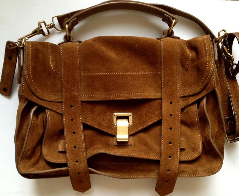 PS1 Medium Suede bag Proenza Schouler 67PVPs
