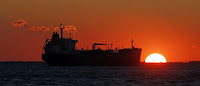 An oil tanker sits anchored off the Fos-Lavera oil hub near Marseille, France, October 15, 2015. Picture taken on October 15, 2015. (Picture Credit: Reuters/Jean-Paul Pelissier TPX Images of the Day) Click to Enlarge.