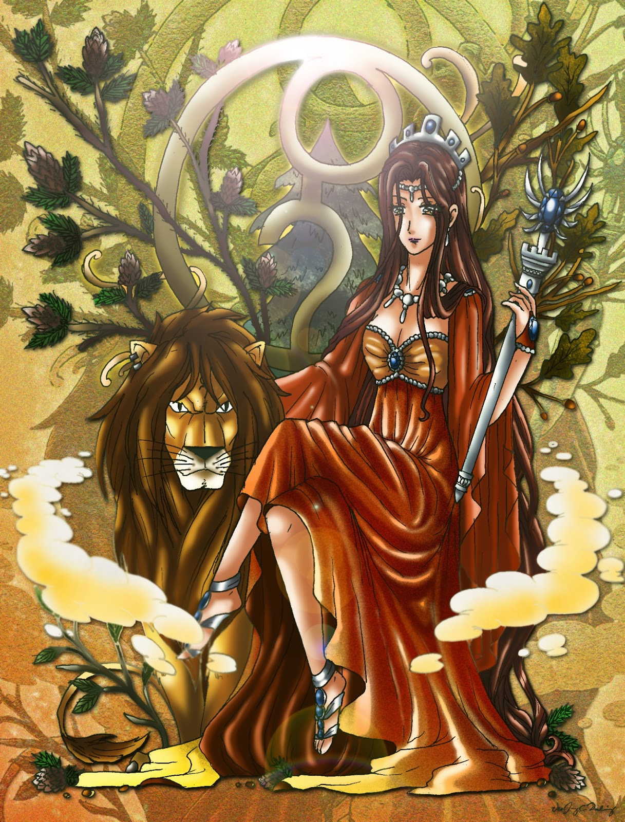 The olympian archives july 2013 Goddess of nature greek
