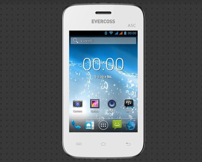 Evercoss A5C Android Murah Untuk Pemula Harga 500 Ribuan