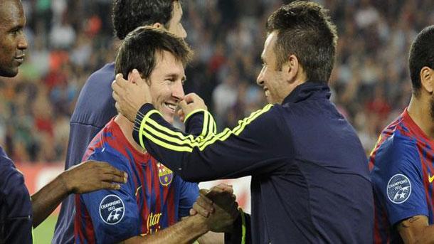Cassano se deshace en elogios hacia Leo Messi