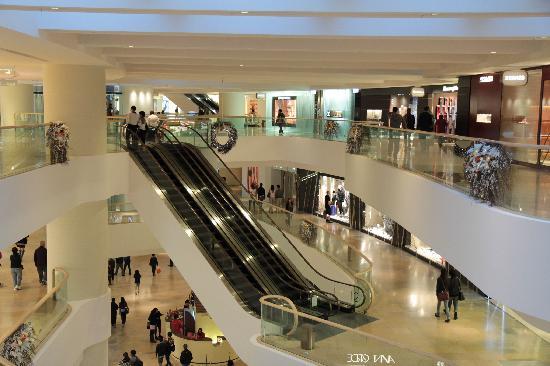 المجمعات التجارية في هونج كونغ
