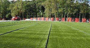 Vitória utilizará campo de grama sintética