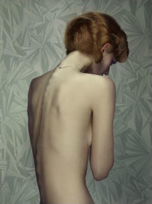 Keyhole, Woman with red hair