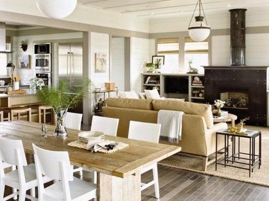 Coastal style interior interior design company for Classic beach house designs