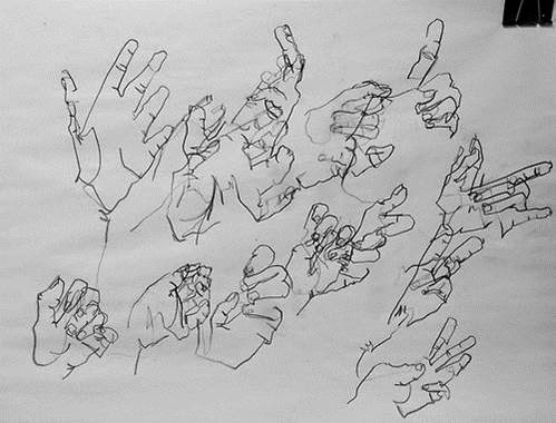 Blind Contour Line Drawing Definition : Blind contour and drawings woodard s art classes