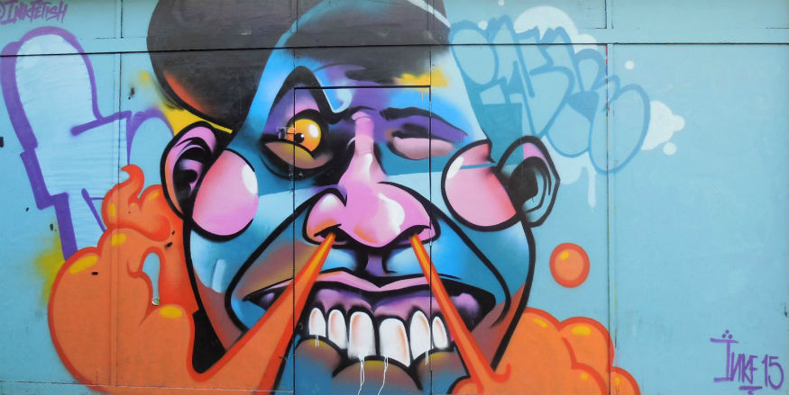 Street art in Croydon's Art Quarter part 2