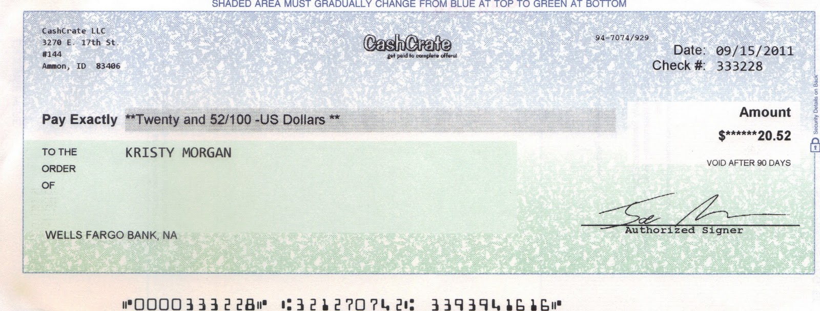 how to write a check with thousands and cents