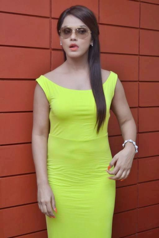 Neetu Chandra at Thilagar Movie Interview Launch Stills